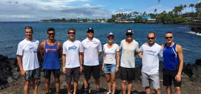 Good luck in Kona to the EC Team!